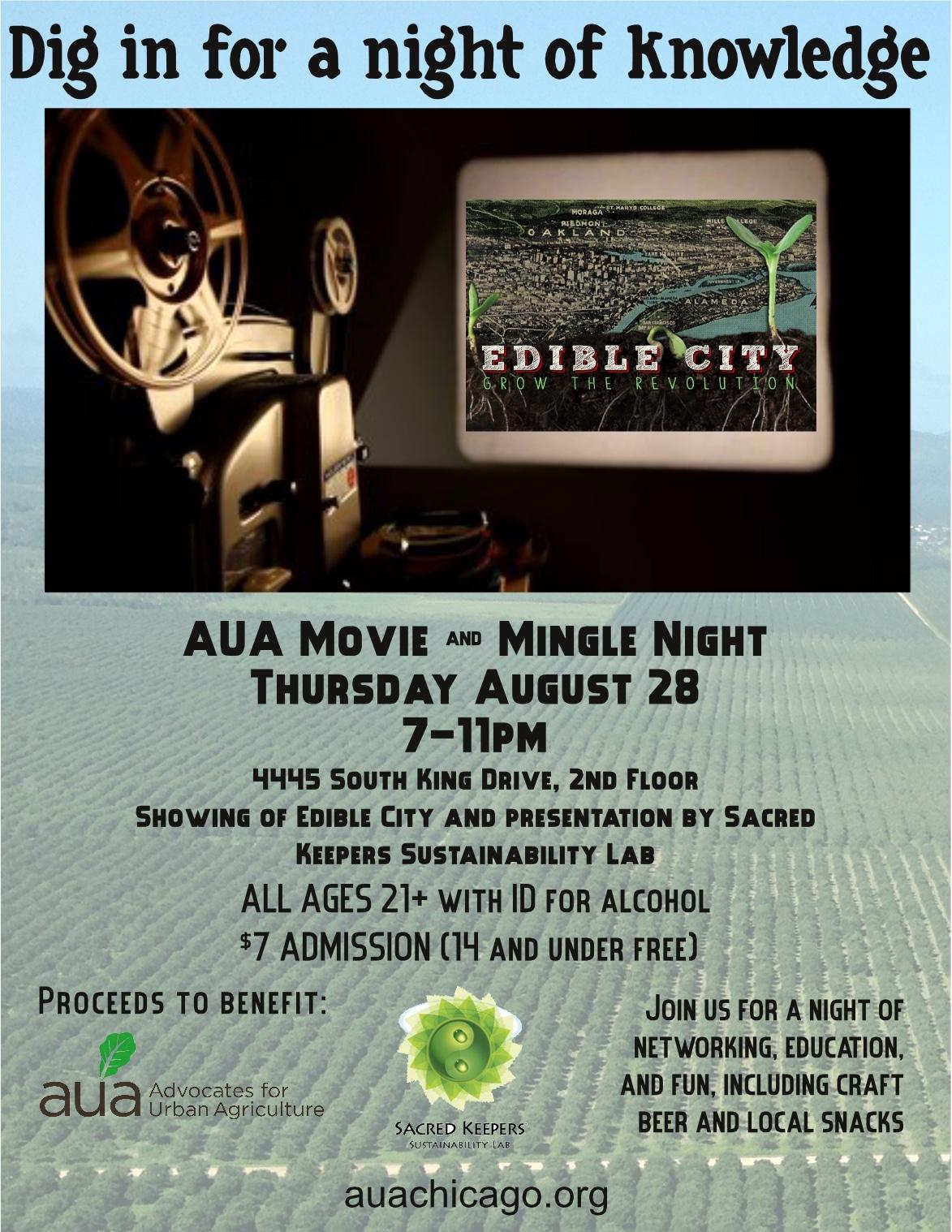 Movie & Mingle Night 8.28