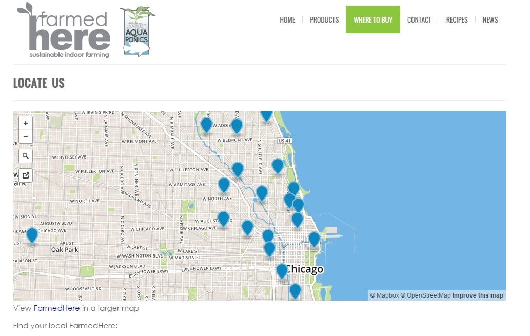 Click the image above to find the nearest location selling FarmedHere aquaponically-grown products